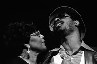 Ella Fitzgerald and Stevie Wonder