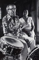 """For a long time in the district, each corner had 4 bands.  They didn't have enough musicians.  They cut the bands out in 1916, but they never cut 'dem sportin' ladies, they still in the French Quarter now.   Never cut  'dem out!"" 
