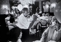 Alvin Alcorn (trumpet b. 1912) at Commanders Palace jazz brunch.