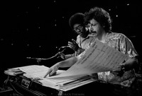 Herbie Hancock and Chick Corea (l-r)