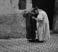 Friendly secret. Fez, Morocco 1988
