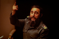 Fidel Castro addressing the United Nations General Assembly.