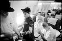 On the plane to Israel, a rabbi wrapped tefillin on me.