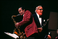 Buddy Tate and Benny Goodman