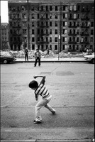 Curb ball, Spanish Harlem, NYC 1978