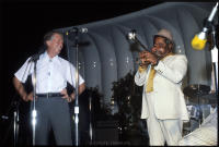 Dizzy Gillespie and President Jimmy Carter